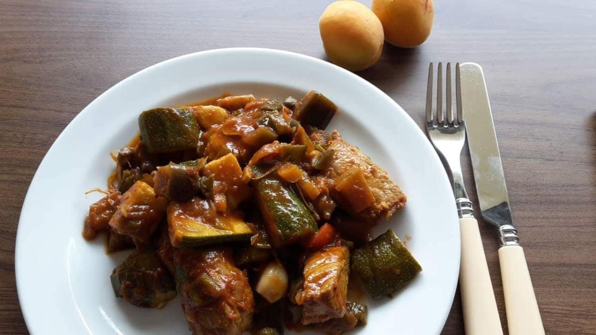 Pork Loin Letscho
