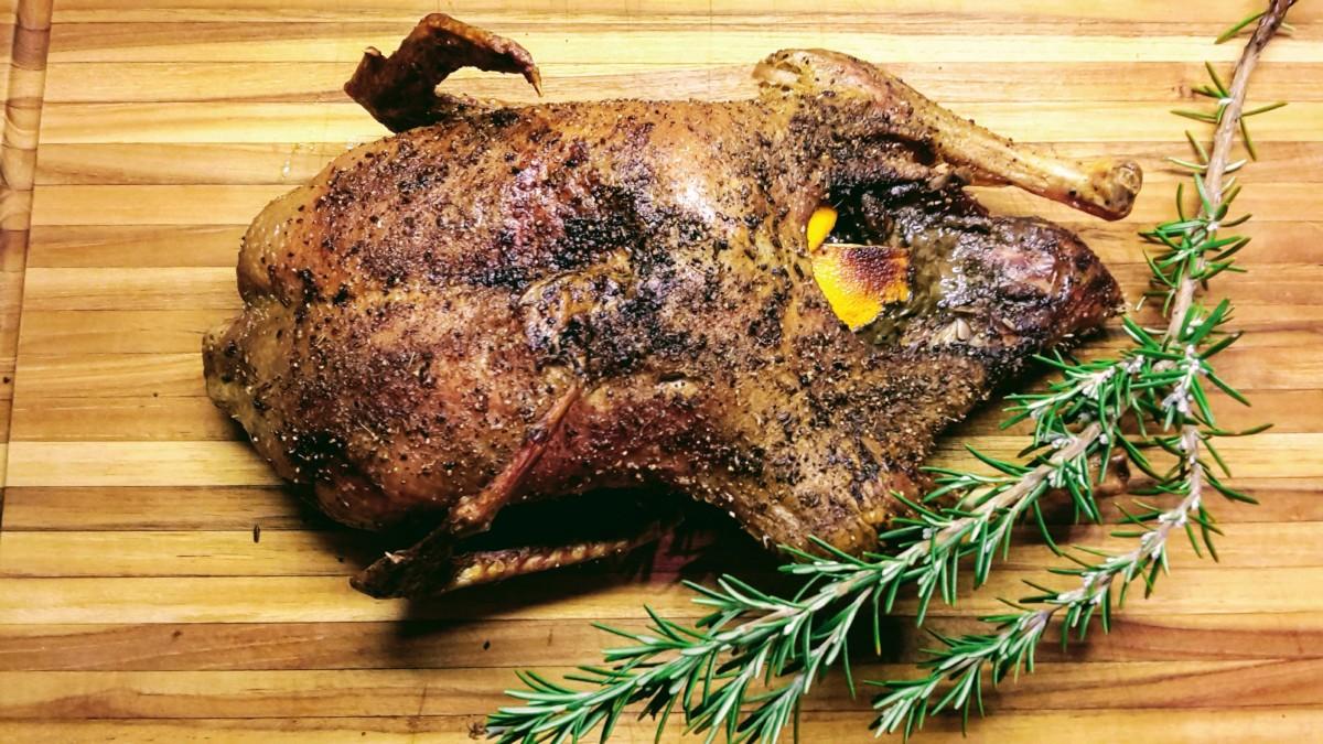 Easy Roast Duck