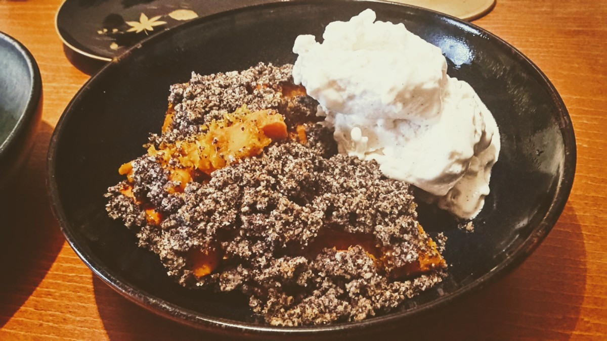 Pumpkin Poppy Crumble