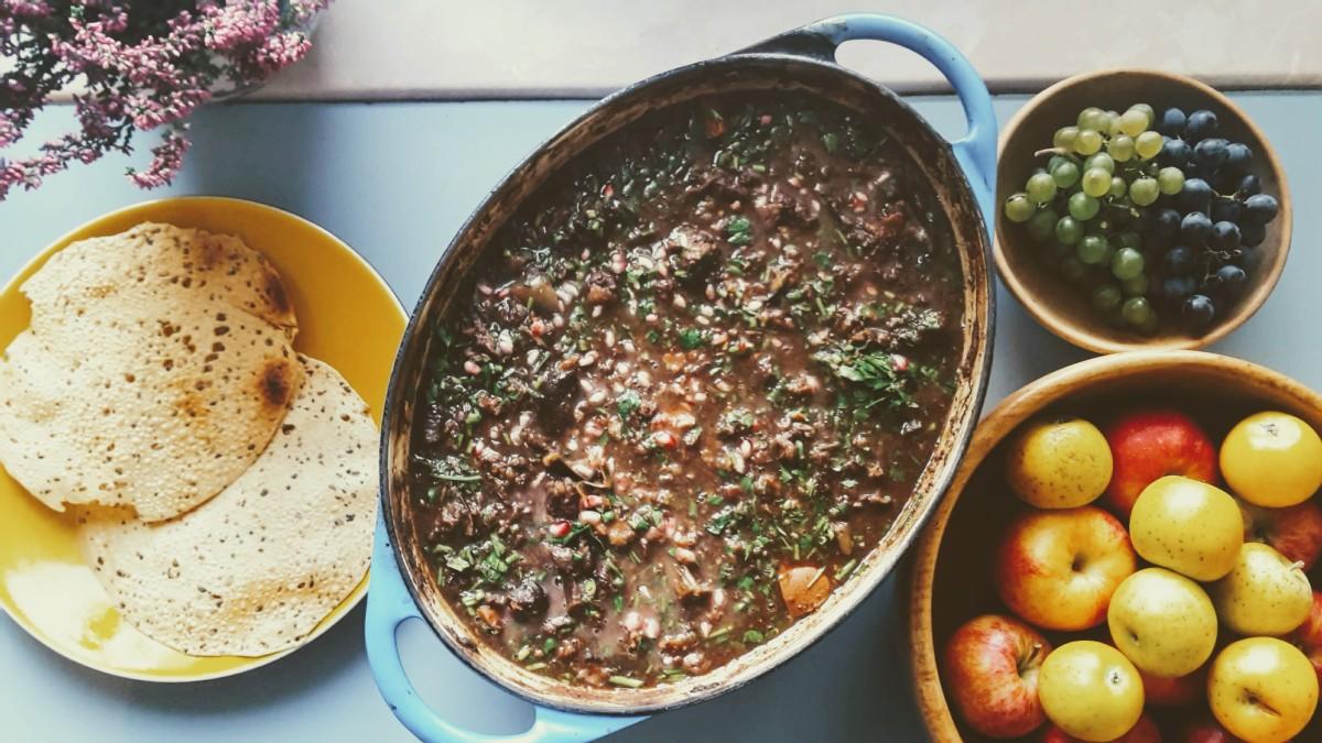 Pomegranate Beef Stew